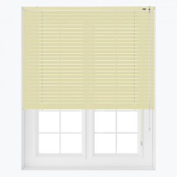 Persienner - Lys gul - U2575 (17 cm x 10 cm)