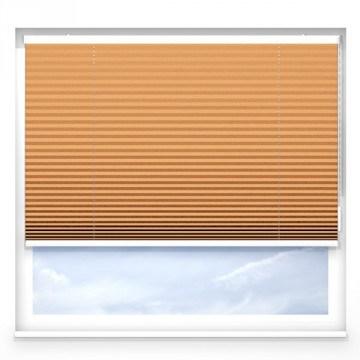 Plissegardiner - Oransje - G2103 (20 cm x 10 cm)