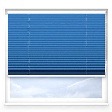 Plissegardiner - Blå - G2106 (20 cm x 10 cm)