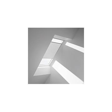 Plissegardiner - Vit - 1045 (10 cm x 10 cm)