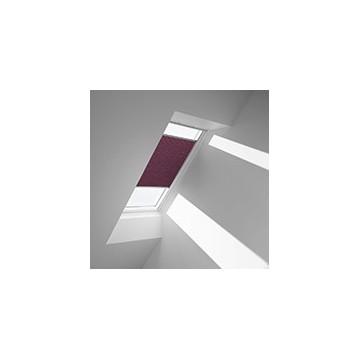 Plissegardiner - Plommon - 1051 (10 cm x 10 cm)