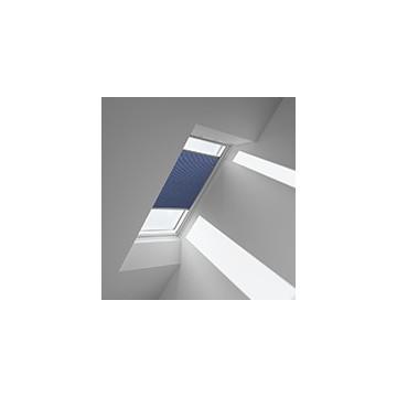 Plissegardiner - Blå meleret - 1156 (10 cm x 10 cm)