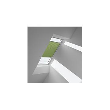 Plissegardiner - ljus oliven - 1157 (10 cm x 10 cm)