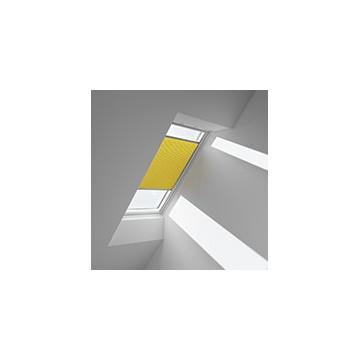 Plissegardiner - Gul - 1160 (10 cm x 10 cm)