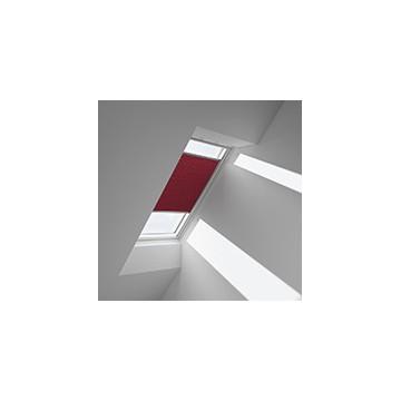 Plissegardiner - Röd - 1162 (10 cm x 10 cm)