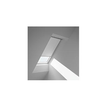 Rullgardiner - Vit med kit cirkelmønster - 4558 (10 cm x 10 cm)