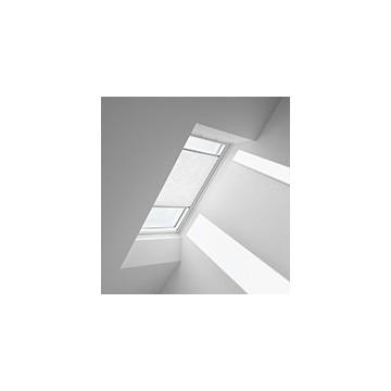 Plissegardiner - Vit med struktur - 1256 (10 cm x 10 cm)