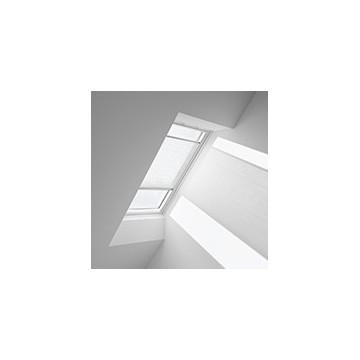 Plissegardiner - Vit flæs - 1257 (10 cm x 10 cm)