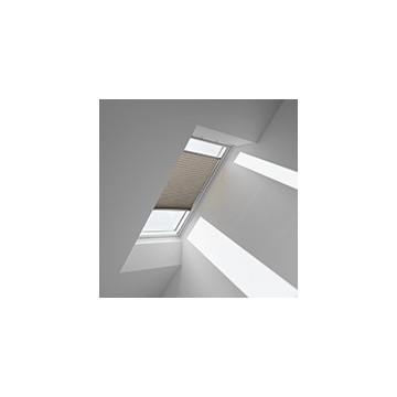 Plissegardiner - Cappuccino metallic - 1264 (10 cm x 10 cm)