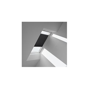 Plissegardiner - Koksgrå metallic - 1265 (10 cm x 10 cm)