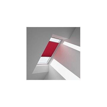 Plissegardiner - Röd - 1269 (10 cm x 10 cm)