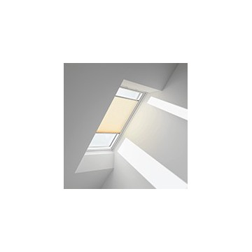 Plissegardiner - Gule/vite striber - 1270 (10 cm x 10 cm)