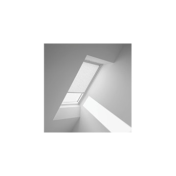 Rullgardiner - Vit abstrakt med prikker - 4156 (10 cm x 10 cm)