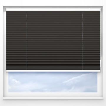 Plissegardiner - Alba svart - 7199 (10 cm x 10 cm)