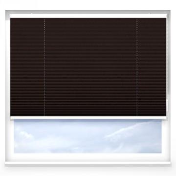 Plissegardiner - Alu antracit - 7172 (10 cm x 10 cm)
