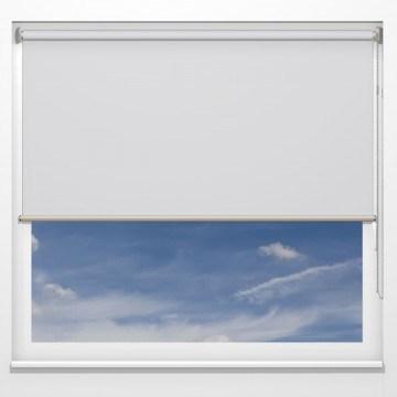 Rullgardiner - Clio transp. Vit - 5131 (25 cm x 10 cm)