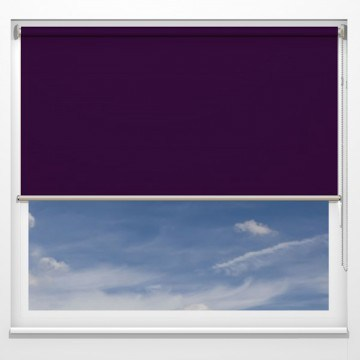 Rullgardiner - Monza blomme - 5607 (25 cm x 10 cm)