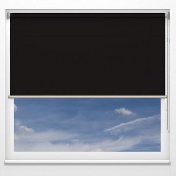 Rullgardiner - Monza svart - 5309 (25 cm x 10 cm)
