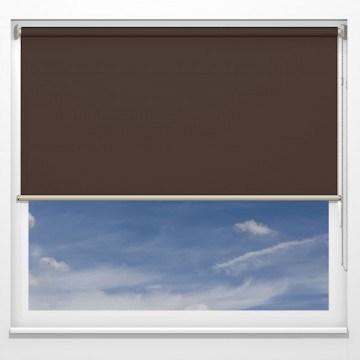 Rullgardiner - Clio brun - 5344 (25 cm x 10 cm)