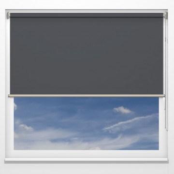 Rullgardiner - Gemini antracit - 5307 (25 cm x 10 cm)