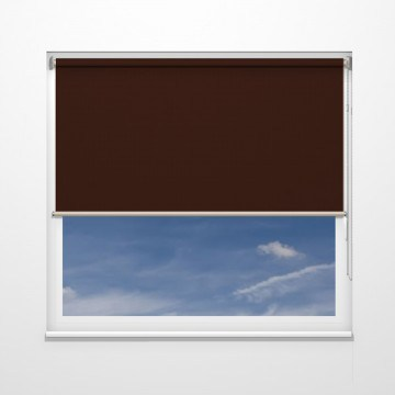 Rullgardiner - Brun - U7113 (35 cm x 10 cm)