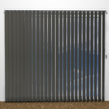 Lamellgardiner - Antracit - U7104 (12 cm x 10 cm)