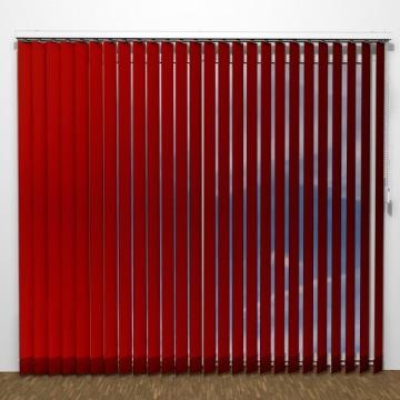 Lamellgardiner - Röd - U7114 (12 cm x 10 cm)