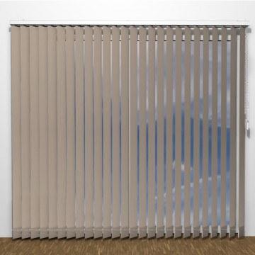 Lamellgardiner - Brun - U7105 (12 cm x 10 cm)