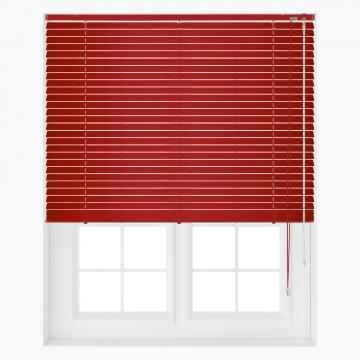 Persienner - Röd - U2112 (17 cm x 10 cm)