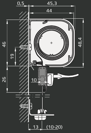 I - Minikassett utspent