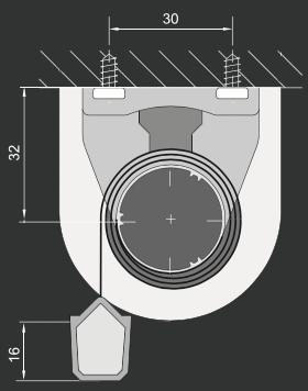 RC - Loftmontering