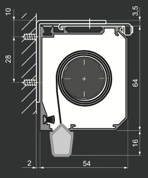RC - Vægmonteirng