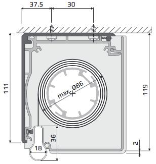 RL - Loftmontering