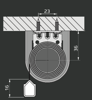 RM - Loftmontering