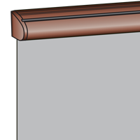 Kassettefarve - Brun