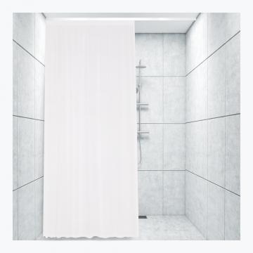 Badeforhæng Stang hvid m. prikker - u4867 - kvadrat 269 kr. | badeforhæng